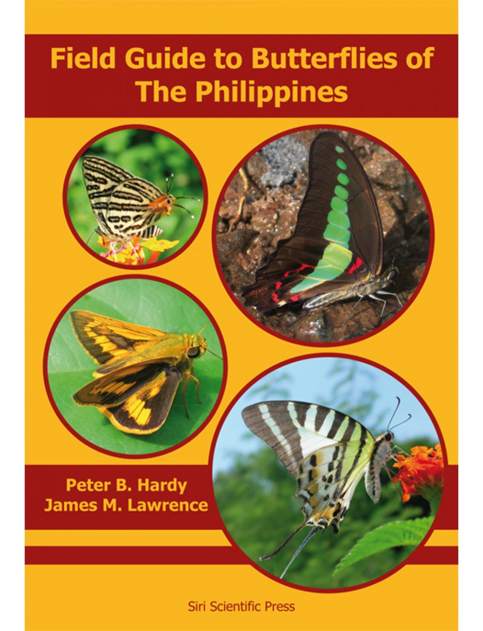 New Book Field Guide To Butterflies Of The Philippines