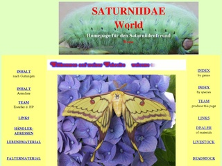 Saturniidae World von Franz Ziereis